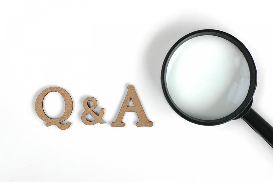応募者からの事前質問へは即座に回答